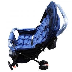 Carruaje para bebé con velo y doble relleno, Comercial los Angeles