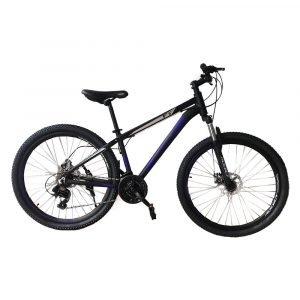 Bicicleta ADDICT No. 27.5 Color Negro Con Detalles Azules.