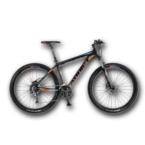 Bicicleta ADDICT No. 27.5 Color Negro con Detalles Naranjas