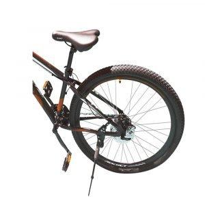 Bicicleta ADDICT negro con naranja