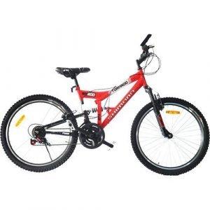Bicicleta De Montaña Shimano Tornado No.24 Roja