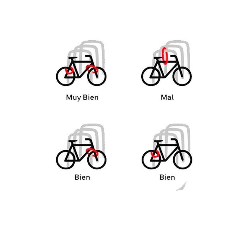 Cadena de Seguridad Para Bicicletas
