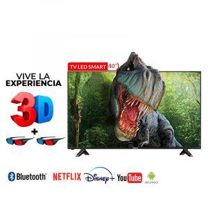 Televisor Smart TV RCA | 40″ | RC40J22SSM