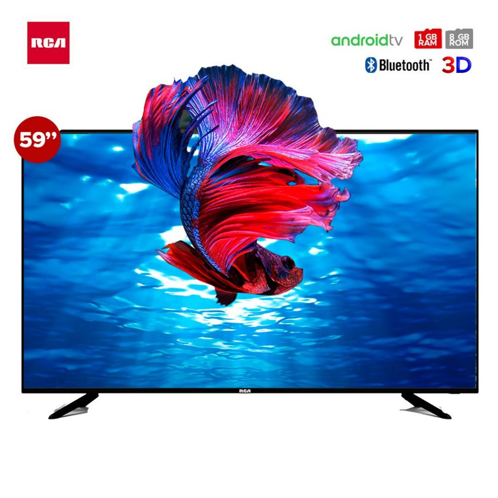 Televisor RCA 59″ | Smart TV 3D 4K | RC59J22S-4KSM
