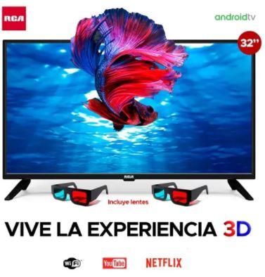 Televisor RCA 32″ | Smart TV 3D | RC40J22SSM