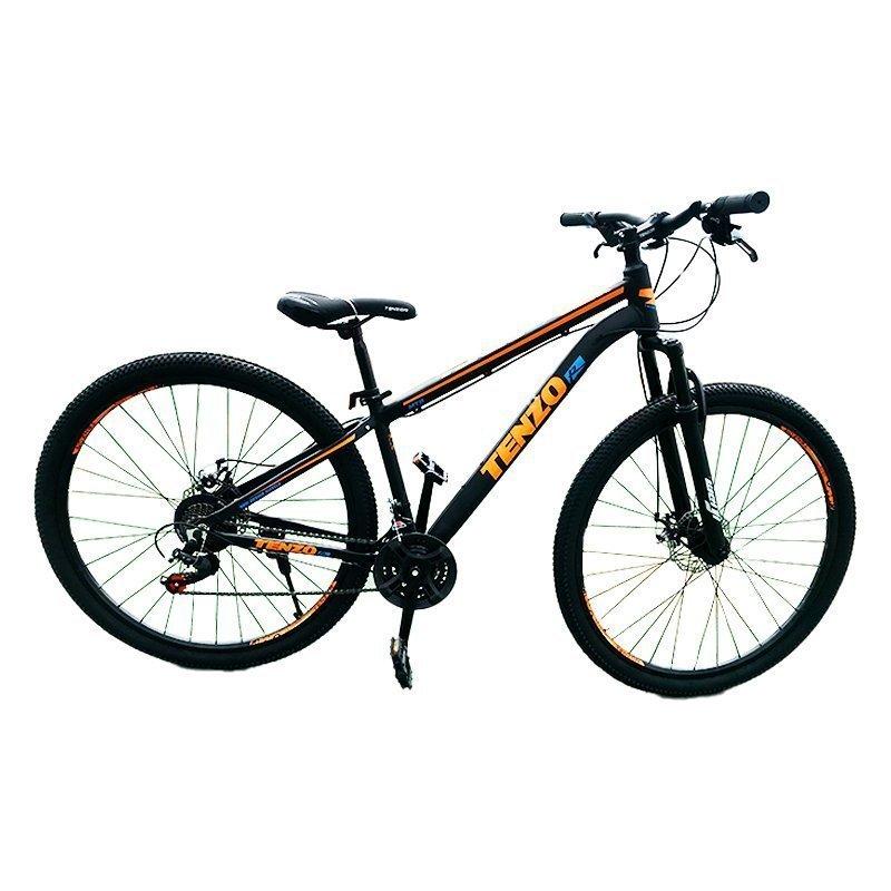 bicicleta tenzo naranja